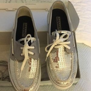 Sperry sequined shoes
